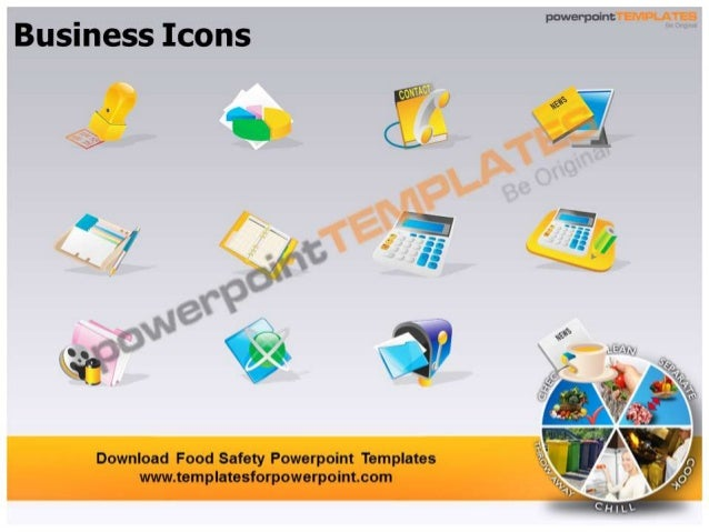 food safety powerpoint templates - templatesforpowerpoint, Modern powerpoint
