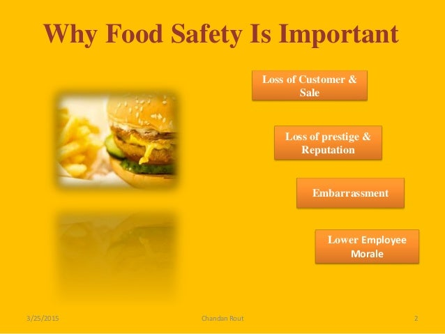 Why Is It Important To Follow Food Safety