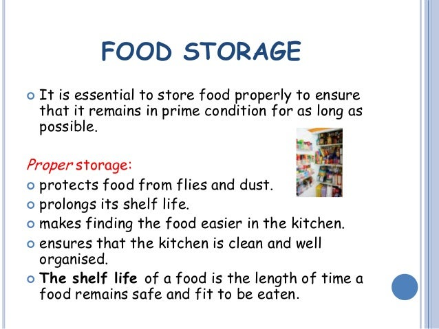 Proper Food Storage Requires Magnificent Food Safety Storage