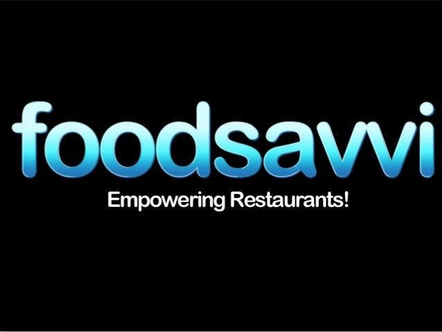 Š:  .  í&&UèQVVL  Empowering Restaurants!