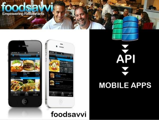 FoodSavvi  Slide 3