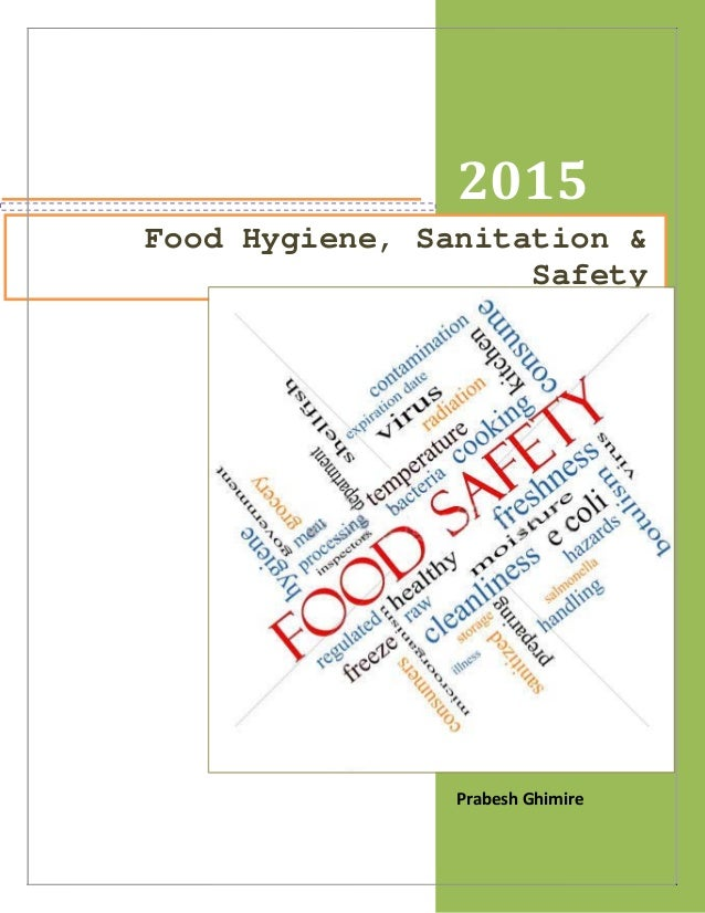 Food science and hygiene