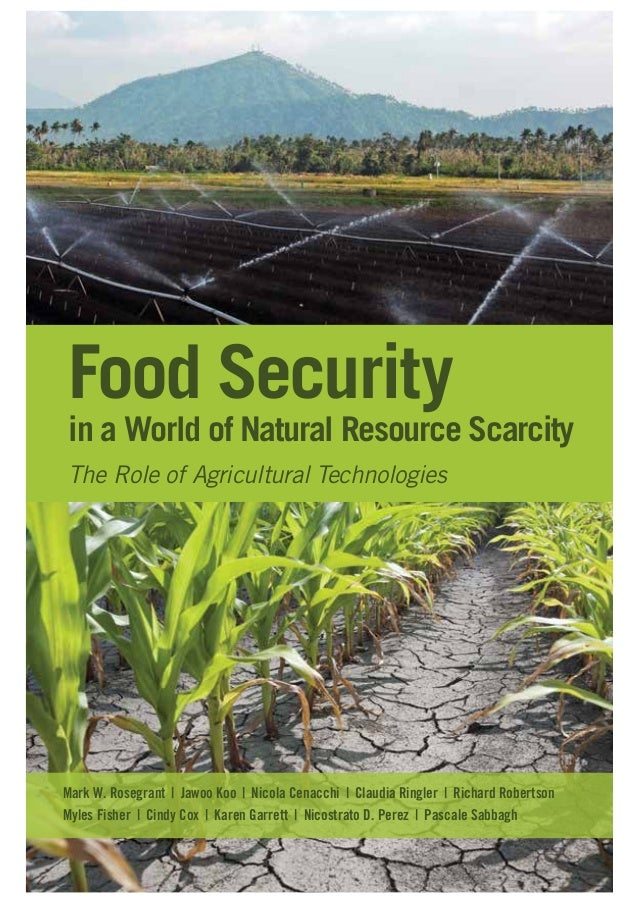 Food Security  in a World of Natural Resource Scarcity The Role of Agricultural Technologies  Mark W. Rosegrant | Jawoo Ko...