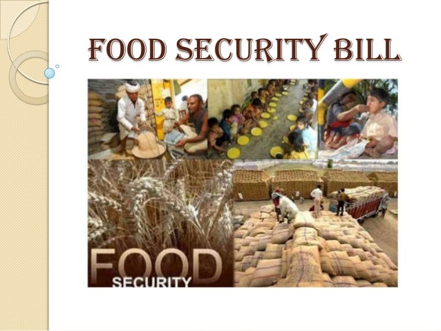 FOOD SECURITY BILL
