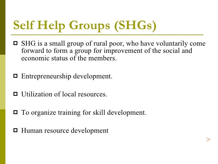 Role of livestock extension in the food security scenario of India  D    SlideShare Self Help Groups