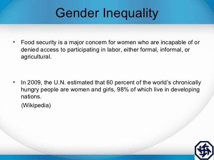 gender inequality and productivity Download citation on researchgate | the gender productivity gap | using danish matched employer-employee data, this paper estimates the relative productivity of men and women and finds that the .