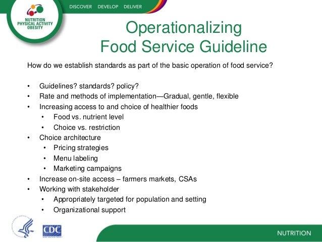 Dietitians In Food Service Management