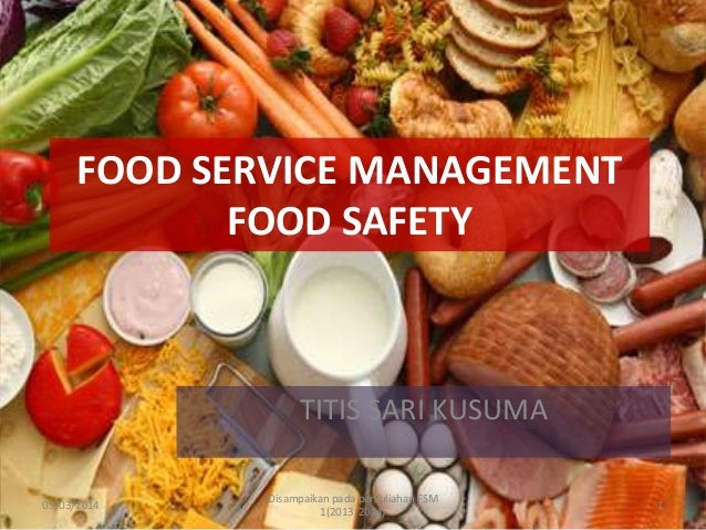 Food Service Management