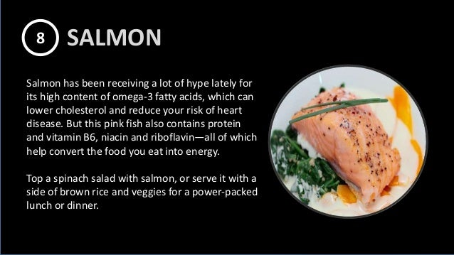 Salmon has been receiving a lot of hype lately for its high content of omega-3 fatty acids, which can lower cholesterol an...