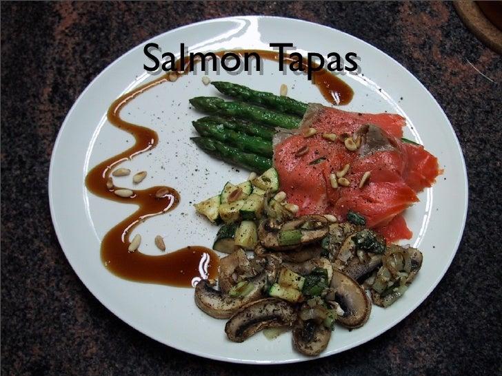 Salmon Tapas