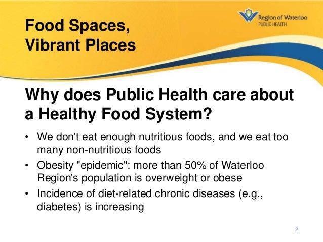 Food Spaces, Vibrant Places Slide 2
