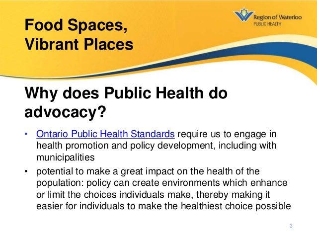 Food Spaces, Vibrant Places Slide 3