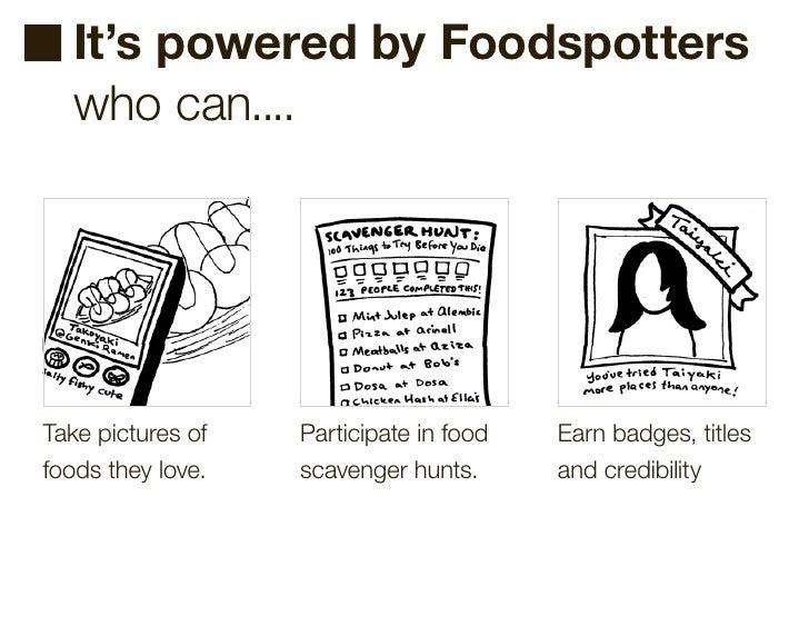 Foodspotting @ iPhoneDevCamp3