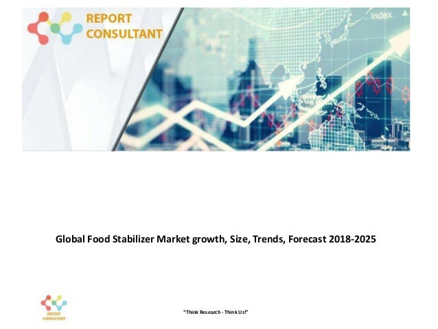 """Global Food Stabilizer Market growth, Size, Trends, Forecast 2018-2025 """"Think Research - Think Us!"""""""