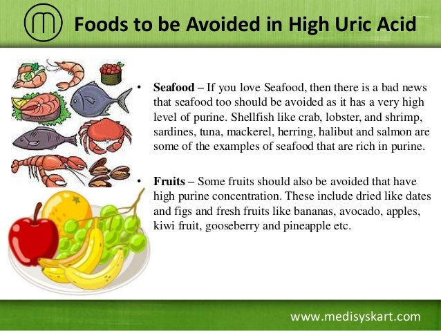 Diet Chart For High Uric Acid Levels