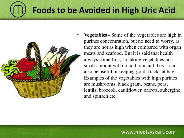 uric acid foods to avoid list pdf