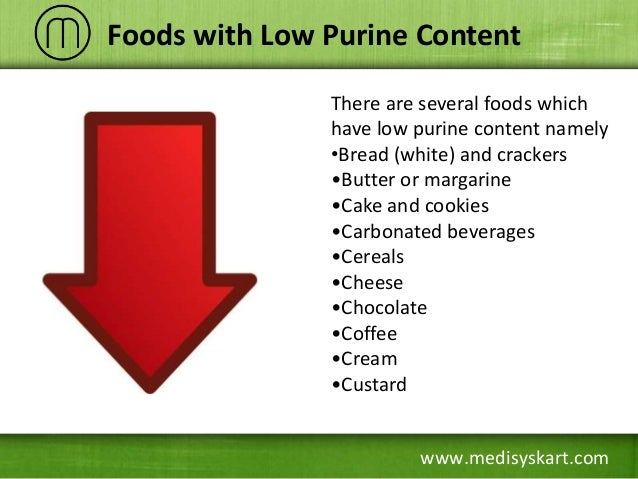 What Foods Have Low Uric Acid