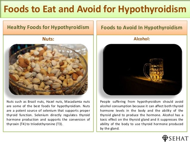 Foods For Healthy Thyroid Levels