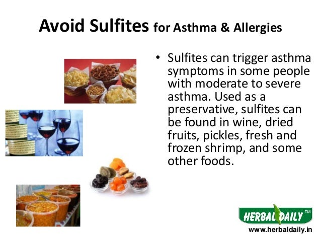 What Foods Can Trigger An Asthma Attack
