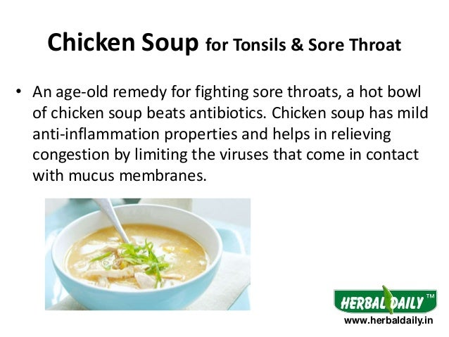 Easy Foods To Eat With A Sore Throat