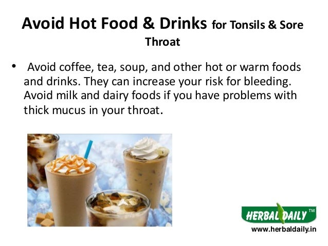 Drinks That Can Cure Sore Throat