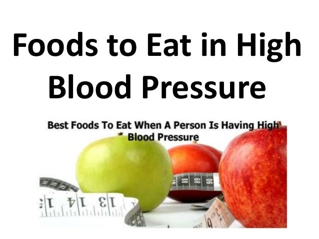 Natural Herbs And Food For High Blood Pressure