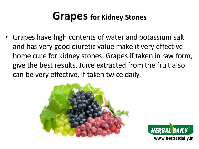 The grape diet