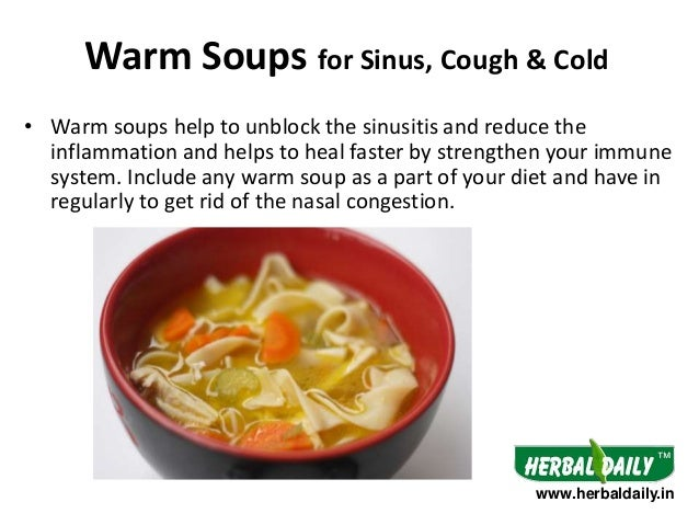 Foods To Get Rid Of Cold And Cough