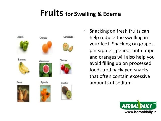 Foods to Eat in Swelling & Edema in Hindi