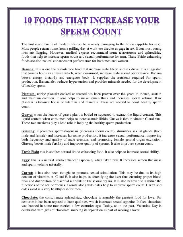 Not pleasant all natural enhancing sperm not hear