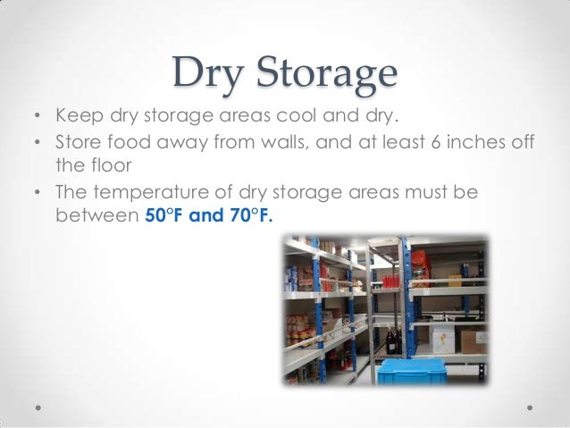 Dry Storage ...  sc 1 st  SlideShare & Safe and Effective Food Storage