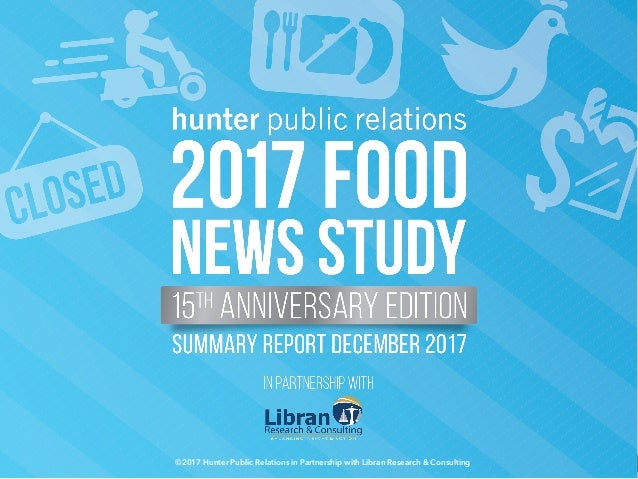 ©2017 Hunter Public Relations in Partnership with Libran Research & Consulting 1©2017 Hunter Public Relations in Partnersh...