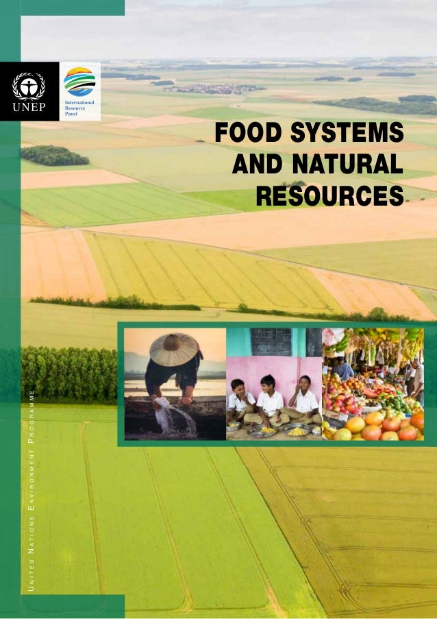 UnitedNationsEnvironmentProgramme FOOD SYSTEMS AND NATURAL RESOURCES