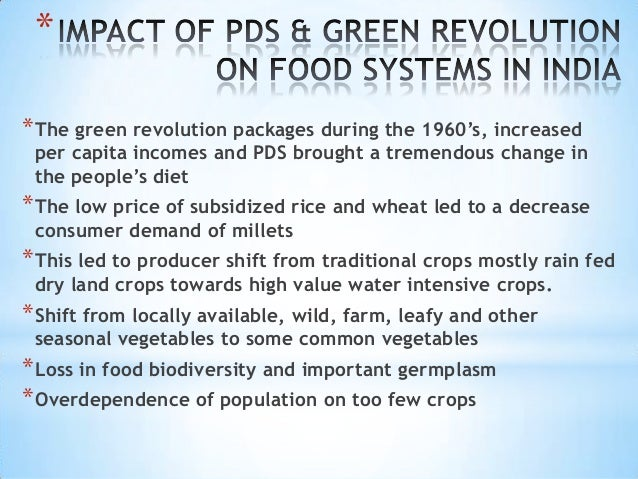 importance of green revolution
