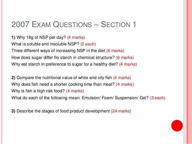 food technology coursework questionnaire Analysis of research questionnaire i carried out a questionnaire to see what dancers liked to eat and what they food technology fast-food industry analysis.
