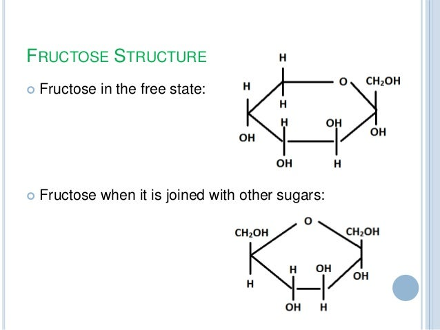 fructose structure