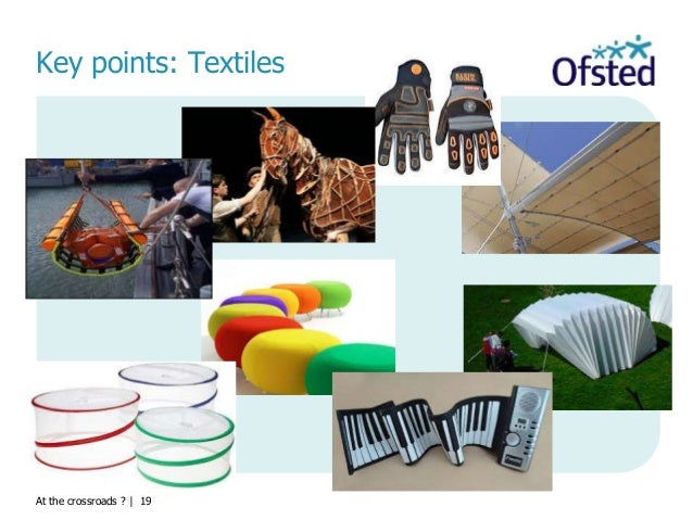 At the crossroads ?   19 Key points: Textiles