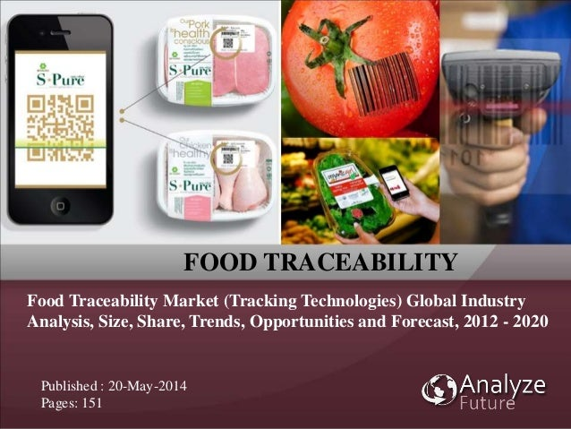 FOOD TRACEABILITY Food Traceability Market (Tracking Technologies) Global Industry Analysis, Size, Share, Trends, Opportun...