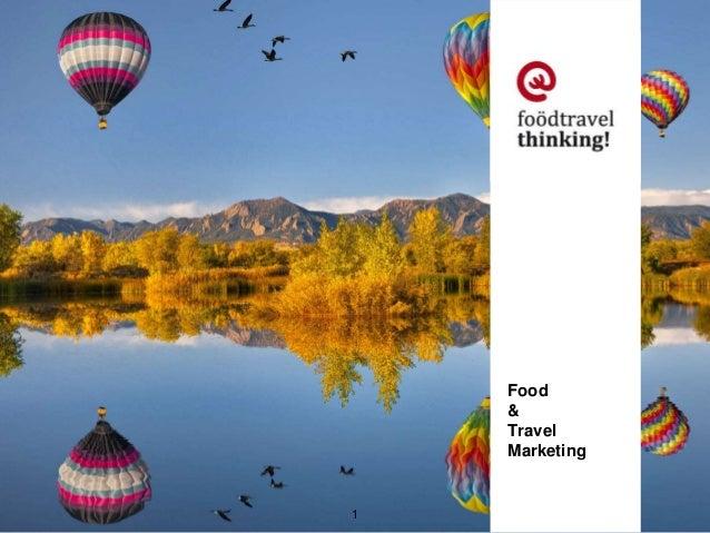 Food  &  Travel  Marketing  1