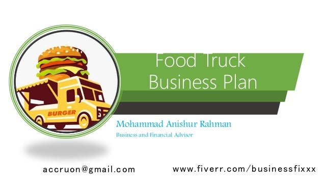 food truck powerpoint templates