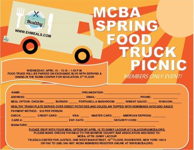 Food Truck Registration Form