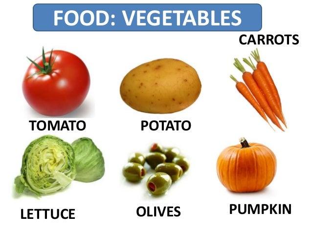 FOOD: VEGETABLES TOMATO POTATO LETTUCE CARROTS PUMPKINOLIVES