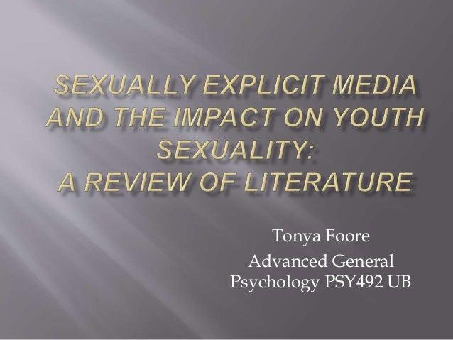 Tonya Foore Advanced General Psychology PSY492 UB