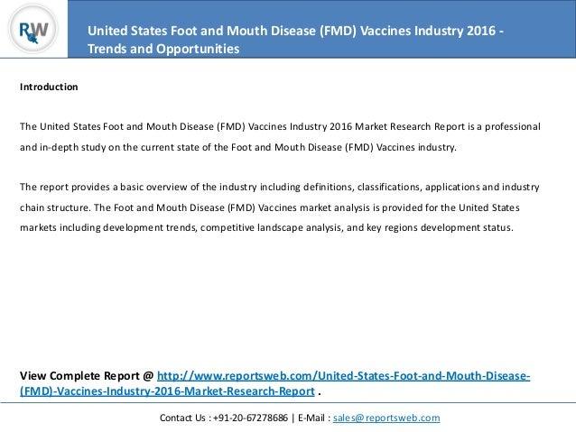 a study of foot and mouth disease fmd Llaabboorraattoorryy nneettwwoorrkk aannnnuuaall rreeppoorrtt 22001111  and global distribution of foot-and-mouth disease  testing study (pts) organised by.