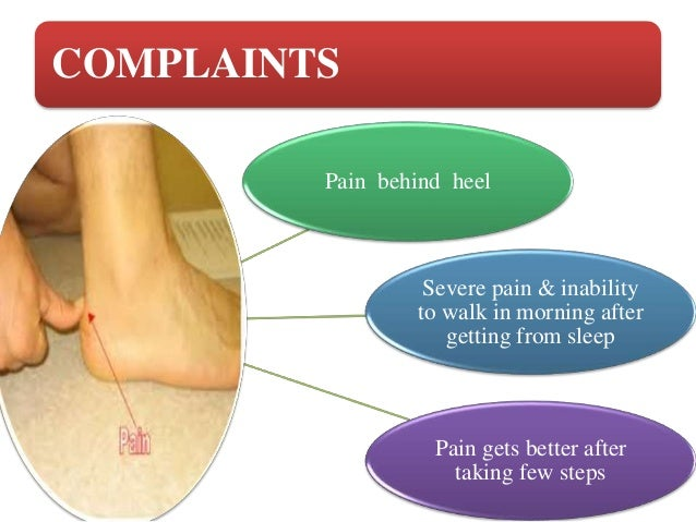 Foot and heel pain
