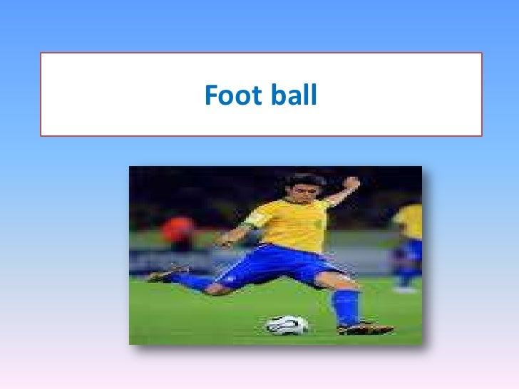 Foot ball<br />