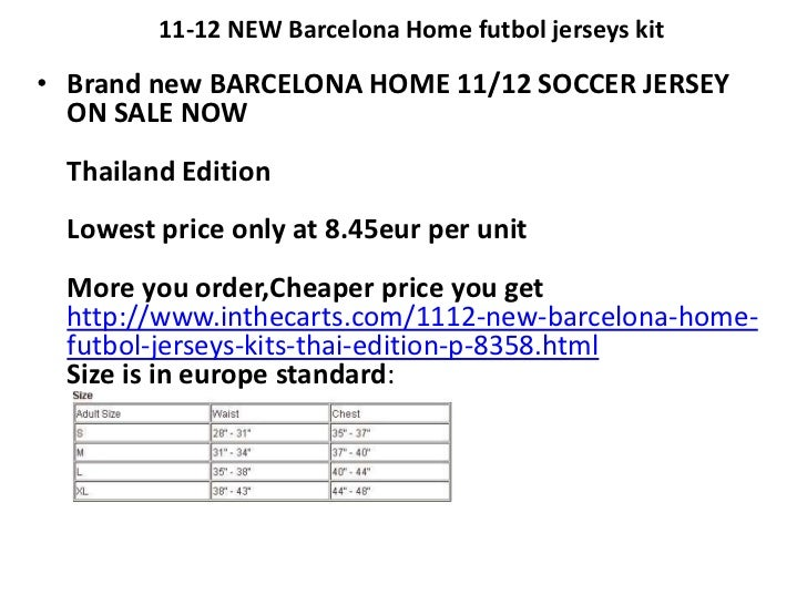 11-12 NEW Barcelona Home futbol jerseys kit<br />Brand new BARCELONA HOME 11/12 SOCCER JERSEY ON SALE NOWThailand EditionL...