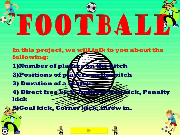 In this project, we will talk to you about the following: 1)Number of players on the pitch 2)Positions of players on the p...