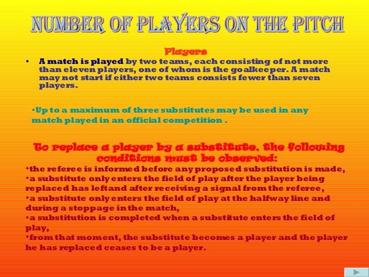 Football Presentation Slide 2