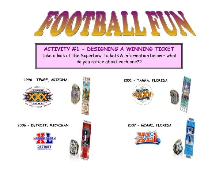 Football activity 2012
